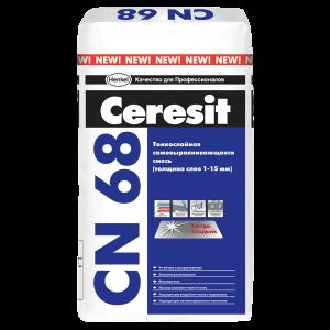 Самовыравнивающаяся смесь Ceresit CN 68 (25кг) слой 1-15мм