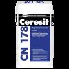 Выравнивающая смесь для пола Ceresit CN 178 (25кг) слой 5-80мм