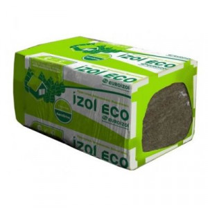Утеплитель IZOL ECO 30  50мм 4,8м2 (0,24м3) тепло-звукоизоляция