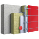 Утеплитель фасадный VATTA ВЕНТ (1200х600х100мм) 1,44м2 (0,144м3) (90кг/м3)