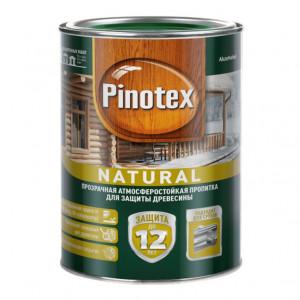 Прозрачная декоративно-защитная пропитка Pinotex Natural
