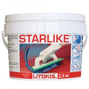 ЭПОКСИДНАЯ затирка Литокол Litochrom Starlike (15 цветов) Classic 2,5кг