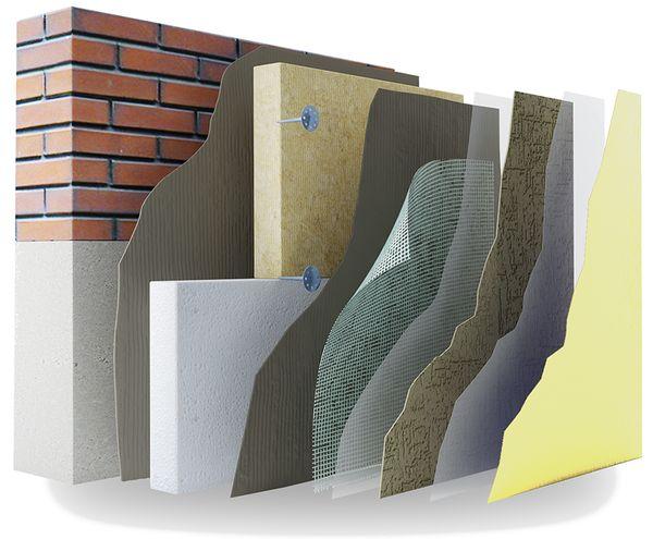 Особенности системы мокрый фасад